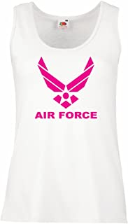 lepni.me Women's Tank Top United States Air Force (USAF) - U. S. Army, USA Armed Forces