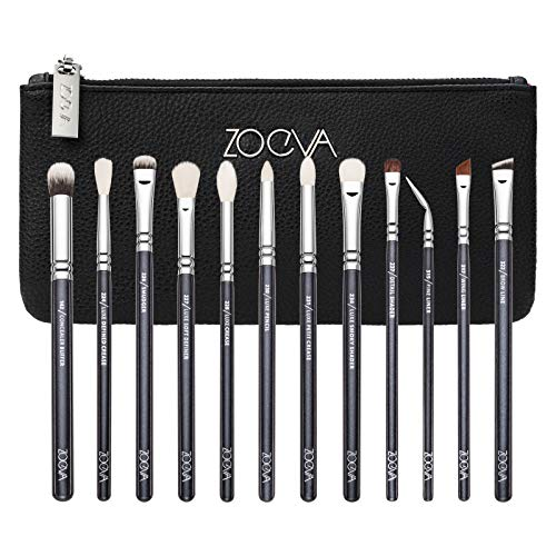 ZOEVA Complete Eye Makeup Brush Set - Includes 12 Eye Makeup Brushes Connecticut