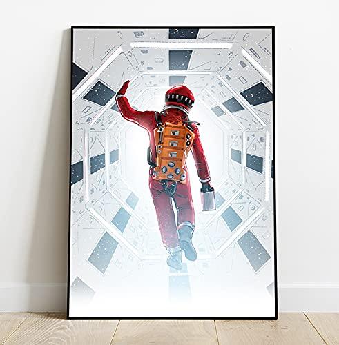 Quadro decorativo Poster Filme 2001 Uma Odisseia No Espaço