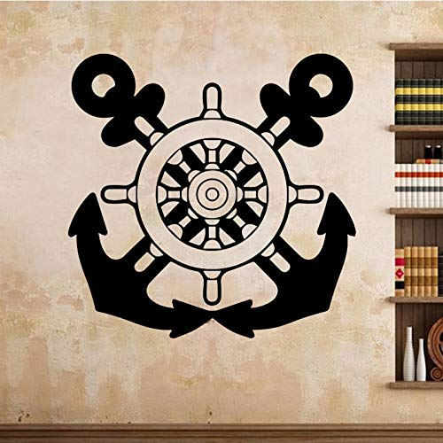 Tianpengyuanshuai muurstickers voor slaapkamer, tienerkamer, twee bijl, wandlamp van vinyl, verwijderbaar