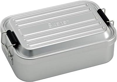 スケーター ふわっと盛れる アルミ製 弁当箱 大容量 850ml シルバー AF86B-A