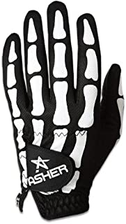 Asher Men's Deathgrip Left Hand Glove, Black, Medium