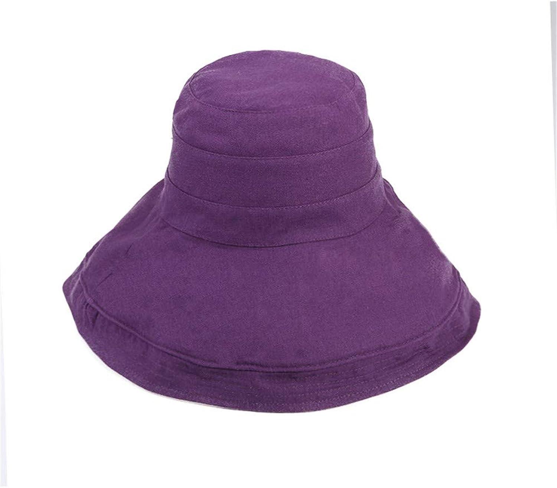 Ladies Sun Hat Beach Hats,Fisherman's hat, Shading DoubleSided Large Brim, Lady Sunscreen Shade hat