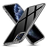 ESR Glas Hülle kompatibel mit iPhone 11 Pro Max Hülle - Kratzfeste 9H Panzerglas Rückseite mit...