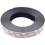 Stickerslab–Velcro adhesivo, modelo Dual Lock SJ 3550,marca 3M, de 25mm, color negro