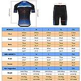Zoom IMG-2 lixada abbigliamento ciclismo uomo set