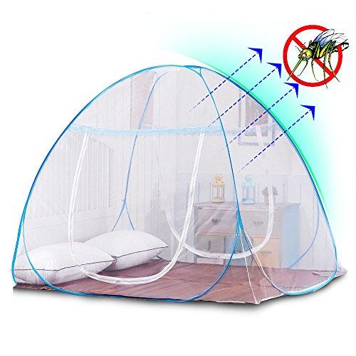yoosion mosquitero para cama One Touch Red de mosquito para cama plegable Yurt Red de mosquito tienda de…
