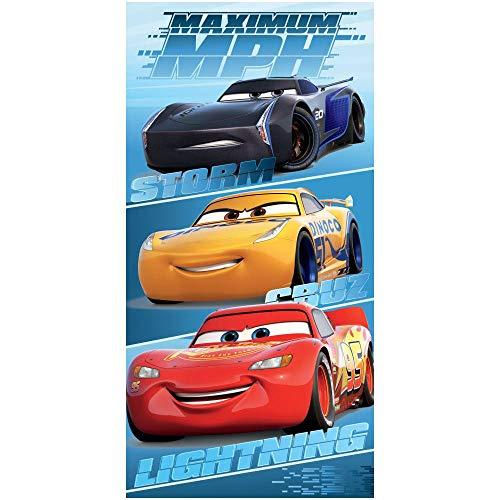 Jerry Fabrics Disney Cars MPH Handtuch