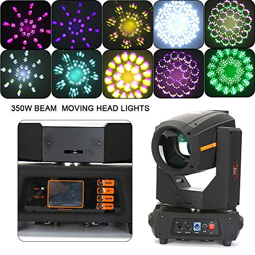 DMX512 LED Moving Head, Disco koplamp, lichteffect schijnwerper met Auto-Run-modus, 13 kleuren, 14 vaste Gobo, voor disco KTV Club Party