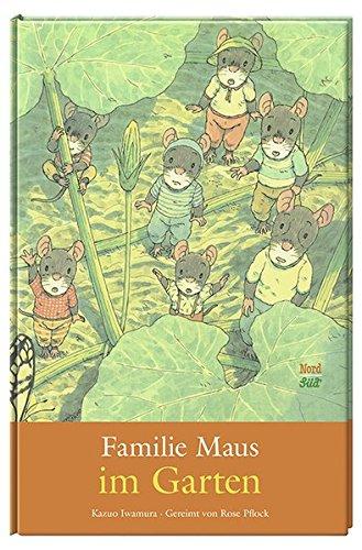 Familie Maus im Garten