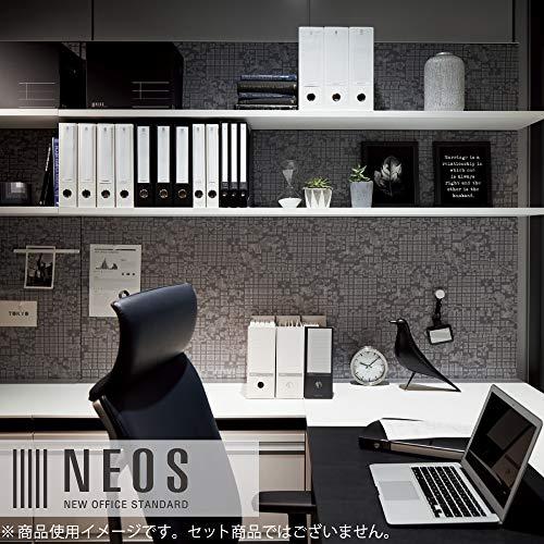 『コクヨ ファイル 個別フォルダー NEOS A4 30mm 3辺とじ 6色セット A4P-NEF30BX6C』のトップ画像