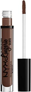 NYX PROFESSIONAL MAKEUP Lip Lingerie Gloss, Milk Chocolate Brown, 0.11 Ounce