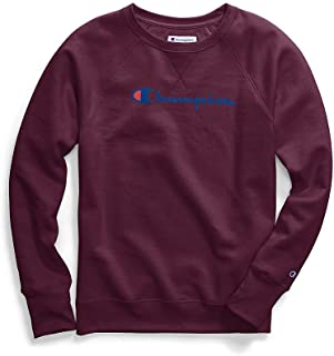 Champion Womens Fleece Crew Sweatshirt Sweatshirt
