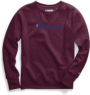 Champion Womens Fleece Crew Sweatshirt Long Sleeve Sweatshirt
