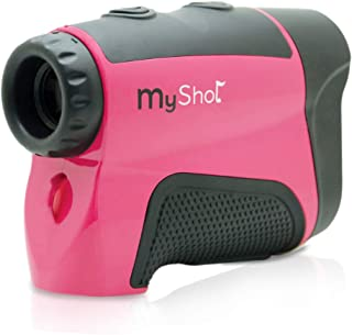 MyShot 400X Golf Rangefinder Laser Distance Scope with Pinseeker Measurement and Lock by Lofthouse Golf | Accurate up to 400 Yardss +/- 1 Yard