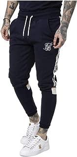 Sik Silk Pantalon de Chandal Retro Panel Azul Marino: Amazon.es ...