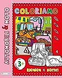 Auto & moto. Ripassa, scrivi, colora. Maxi color. Ediz. illustrata
