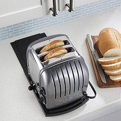 Mehrzweck-Kchenregal-mit-verschiebbarer-Kaffeemaschine-Ablageflche-fr-Blender-Toaster-Kchengerte-305-cm-Premium-BPA-frei-Schieberegal-mit-glatten-Rollen-2-Stck