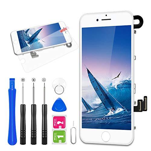 FLYLINKTECH Pantalla para iPhone 7 Blanco 4.7 Táctil LCD de Repuesto Ensamblaje...