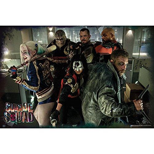 Grupo Erik Editores Suicide Squad Group–Poster, 61x 91.5cm