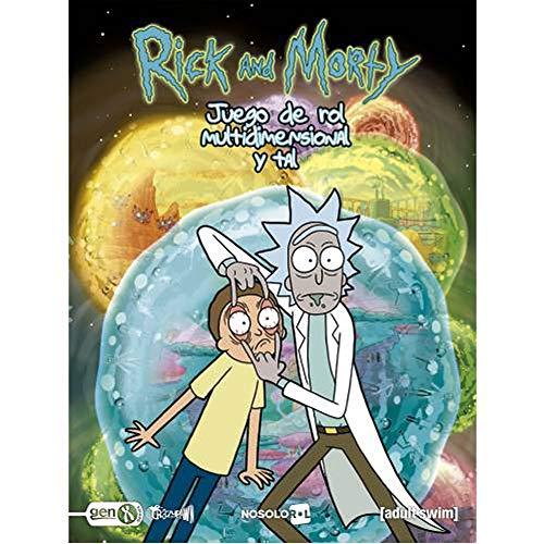 nosolorol Rick y Morty – El Juego de rol Multidimensional y Tal