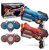 barhee Laser Tag Guns with Vests Set of 2 Kit