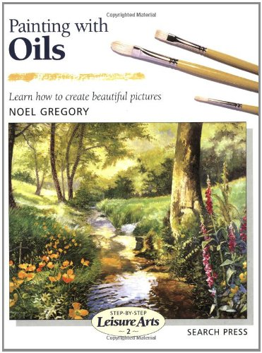 Price comparison product image Painting with Oils (Step-by-Step Leisure Arts)