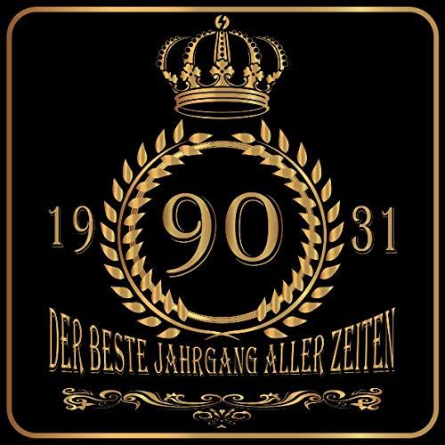90 Der beste Jahrgang aller Zeiten 1931: Cooles Geschenk zum Geburtstag Geburtstagsparty Gästebuch...