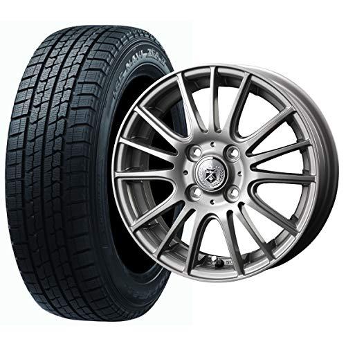 GOOD YEAR(グッドイヤー) ヴィッツ パッソ 等に スタッドレスタイヤ ホイール 4本セット 155/80R13 グッド...