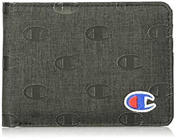 Champion Graphic Wallet Washed Black One Size