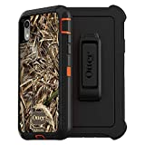 OtterBox DEFENDER SERIES SCREENLESS EDITION Case for iPhone Xr - Retail Packaging - RT MAX 5 HD (BLAZE ORANGE/BLACK/MAX...