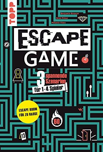 Escape Game: Wirst du entkommen? 3 spannende Szenarien für 1 - 4 Gefangene!
