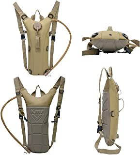 Roaring Fire Tactical Hydration Pack Water Rucksack Backpack with 3L BPA Free Hydration Water Bladder, Water Bag Backpack, for Cycling, Riding, Hiking, Trekking, Climbing, Outdoor, Hunting,Camping