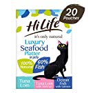 Hilife It's Only Natural Cat Food Seafood Platter, 20x50g