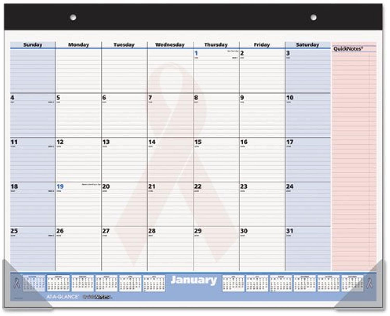 Einen Blick QuickNotes Brustkrebs Bewusstsein Schreibunterlage Kalender (skpn7000) B00Q4KPN7A   | Modern Und Elegant In Der Mode