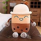 DINEGG Kreative Perlenmilch Teetasse Kissen Plüsch Spielzeug Getränk Puppe Mädchen Schlafsofa...