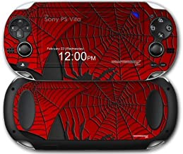 Sony PS Vita Skin Spider Web by WraptorSkinz by WraptorSkinz
