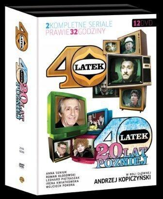 Czterdziestolatek (40-latek) and Czterdziestolatek: 20 lat p??zniej - 1973/1993 TV miniseries on 12-DVD (Region 2, PAL)