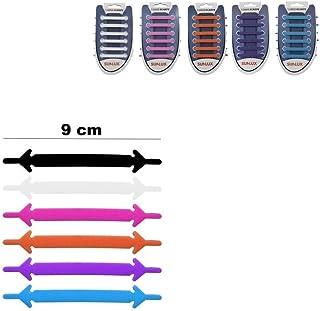 takestop® Lacci Laccio Elastici Impermeabili in Silicone 9cm