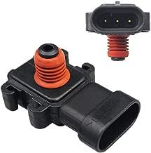 Dade Manifold Absolute Barometric Pressure Map Sensor Replaces 213-796 8093594090 16187556 for Chevrolet Cadillac Buick Pontiac GMC