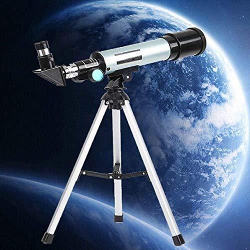 Nuevo Telescopio Espacial 90 Veces Abierto Monocular, Telescopio Astronómico con El Portable del Trípode Telescópico 360/50 Mm Lente