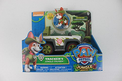 Read About Nickelodeon Paw Patrol Jungle Rescue Trackers Jungle Cruiser Set