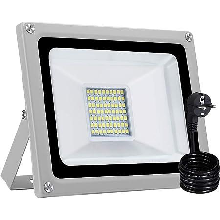 LED Fluter Wasserdicht Scheinwerfer IP65  Außen Strahler Flutlicht 30W KaltWeiß