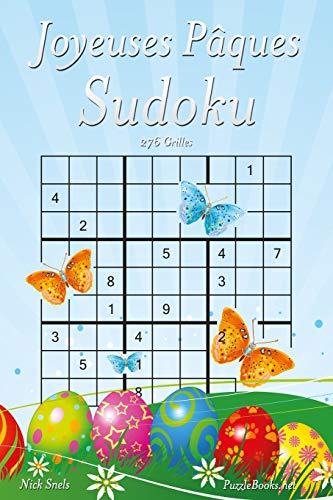 Joyeuses Pâques Sudoku - 276 Grilles