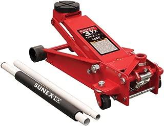 SUNEX 66037 3.5T FLOOR JACK STEEL RAPID RISE