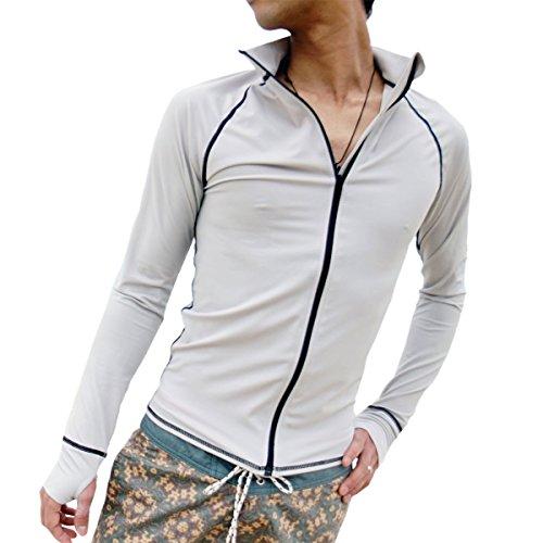 AROPEC/アロペック ZIPクラシック ラッシュガード(ジップアップ) メンズ 長袖