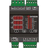 DATAKOM DKM-407 analizador de red electrica, en carril DIN, THD, RS-485, 1-entrada, 1 salida