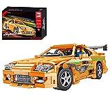 OSoMax Modelo Super deportivo para Toyota Supra A80 – Happy Build YC-QC018 – Coche de carreras compatible con Lego Technic – 2225 piezas