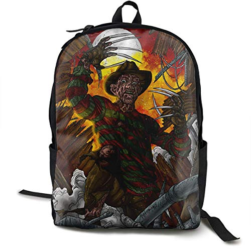 ixiandian-1 Freddy Coming for You Unisex Cool Casual Backpack School Bag Hiking Backpack