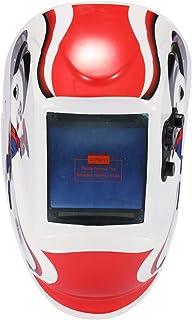 Festnight Casco de soldadura TIG GMAW para soldar máscara de soldadura de luz solar de cambio